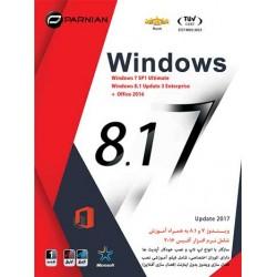 ویندوز پرنیان 8.1 و 7 پرنیان|تعداد حلقه 1DVD9 |قیمت پشت جلد :130000 ریال