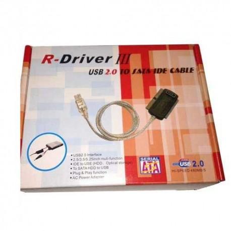 تبديل USB به IDE سه کار R-Driver