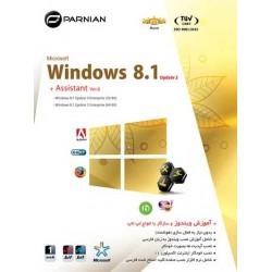 ویندوز Windows 8.1 Update 3 & Assistant (Ver.6) |تعداد حلقه 1DVD9 |قیمت پشت جلد 130000 ریال