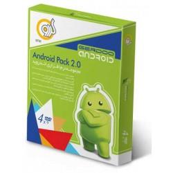 مجموعه نرم افزاری اندروید ANDROID PACH 2  تعداد حلقه 4DVD9  قیمت پشت جلد 200000 ریال
