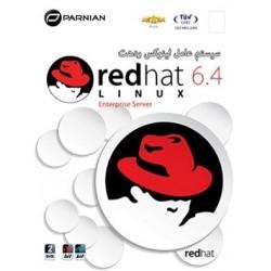 لینوکس LINUX REDHAT 6.4 | تعداد حلقه 2DVD |قیمت پشت جلد 110000 ریال
