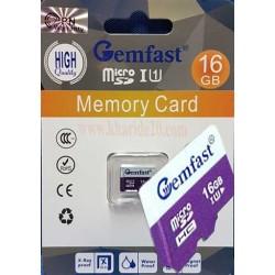 رم 16GB کارتی جم فست U1 GEMFAST گارانتی دائم