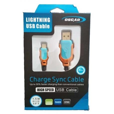 فروش عمده لوازم جانبی گوشی و لوازم جانبی گوشی موبایل و کابل شارژ آیفون پک دار OSCAR