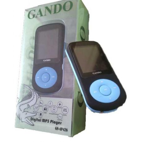 MP4 Player GANDO GN-4P426 , نمایندگی پخش لوازم گوشی , مرکز پخش لوازم جانبی گوشی موبایل