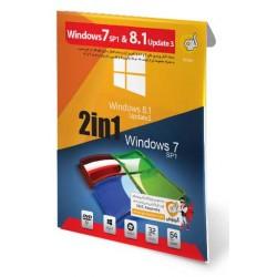 ویندوز 7 و 8.1 WINDOWS  قیمت پشت جلد 130000 ریال  1DVD9