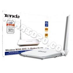 مودم-روتر +ADSL2 بيسيم Tenda مدل D151 , پخش عمده لوازم جانبی , لوازم جانبی کامپیوتر عمده , مودم عمده