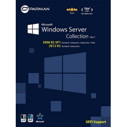 ویندوز سرور windows server collection|1DVD9