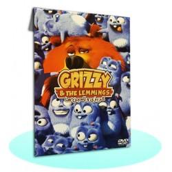 کارتون گریزی و لامین ها | grizzy & the lemmings