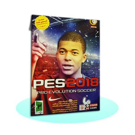 بازی کامپیوتری فوتبال PES2018 گردو