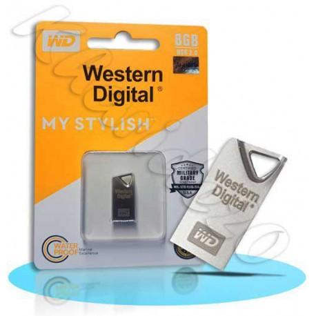 فلش 8GB Western Digital MY STYLISH | نمایندگی وسترن دیجیتال , پخش محصولات وسترن دیجیتال , پخش Western Digital