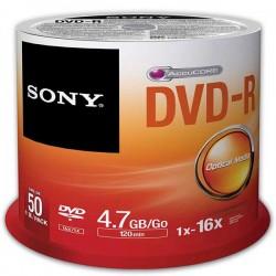 پک 50 تایی دی وی دی خام سونی | DVD SONY