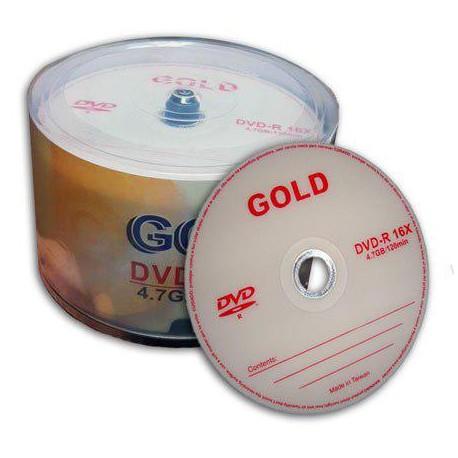 پک 50 تایی دی وی دی گلد   DVD GOLD