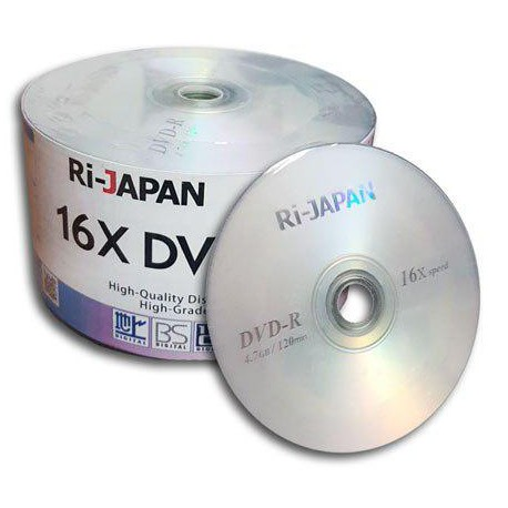 پک 50 تایی دی وی دی ری ژاپن | DVD RI-JAPAN , پخش عمده dvd خام