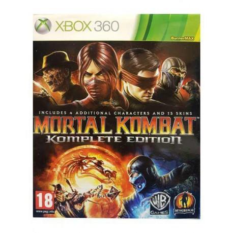بازی MORTAL KOMBAT برای کنسول XBOX 360
