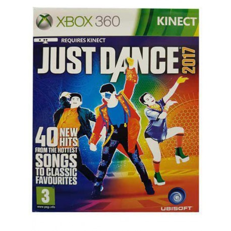 بازی JUST DANCE 2017 برای کنسول XBOX 360