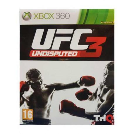 بازی UFC3 UNDISPUTED برای کنسول XBOX 360