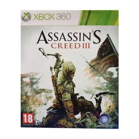 بازی ASSASSIN'S CREED III برای کنسول XBOX 360