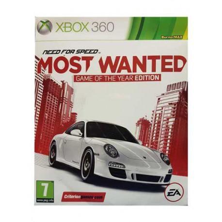 بازی MOST WANTED برای کنسول XBOX 360