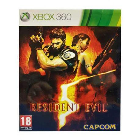 بازی RESIDENT EVIL 5 برای کنسول XBOX 360