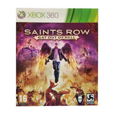 بازی SAINTS ROW GAT OUT OF HELL برای کنسول XBOX 360
