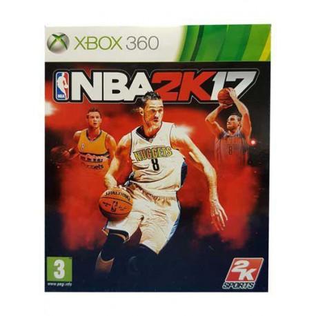 بازی NBA2K17 برای کنسول XBOX 360