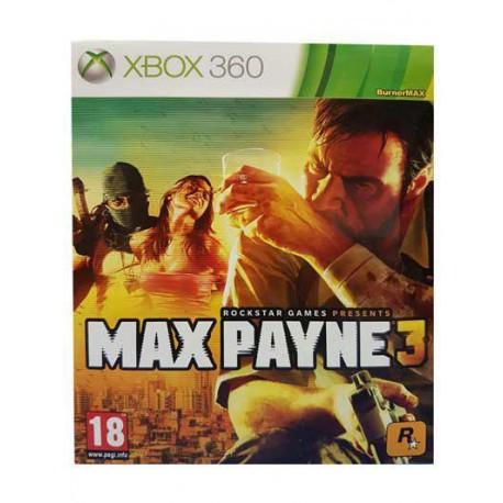 بازی MAX PAYNE 3 برای کنسول XBOX 360