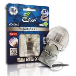 فلش مموری Type-C USB 3.1 VICCO 32GB VC400 S