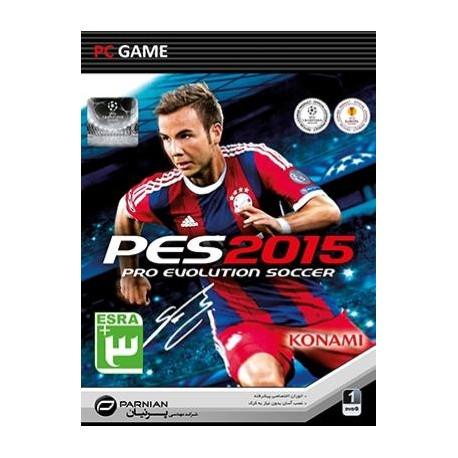 بازی فوتبال حرفه ای Pro Evolution Soccer 15