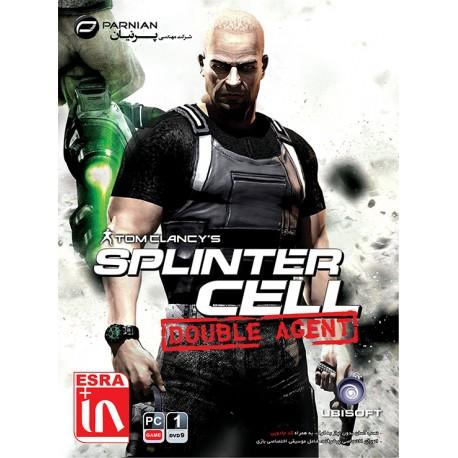 بازی کامپیوتر Tom Clancy's Splinter Cell Double Agent قیمت پشت جلد : 10500 تومان