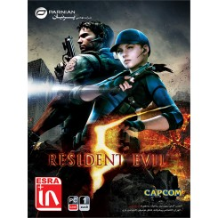 بازی کامپیوتر Resident Evil 5 Gold Edition قیمت پشت جلد : 12500 تومان