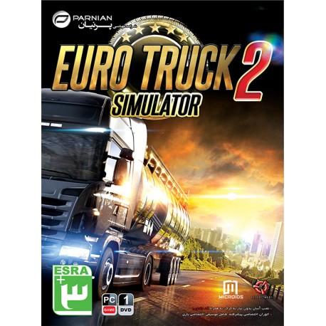 بازی کامپیوتر American Truck Simulator قیمت پشت جلد : 10500 تومان