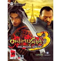 بازی کامپیوتر Onimusha 3 Demon Siege قیمت پشت جلد : 10500تومان