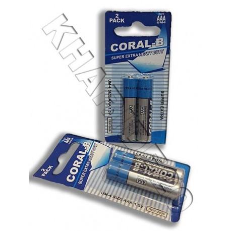 باتری نیم قلم CORAL-B