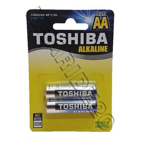 بسته 2 عددی باطری قلمی توشیبا TOSHIBA