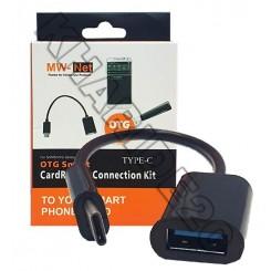 تبدیل مادگی USB به MW-NET Type-C