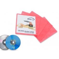 بسته 100 عددی کاورپنبه ای ضد خش محافظ CD و DVD