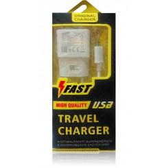 شارژر اندروید زرد Travel Charger