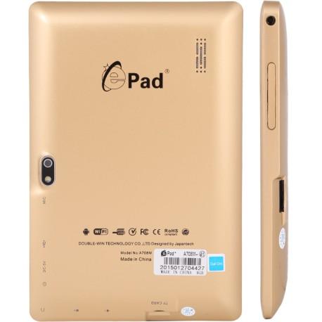 تبلت طلایی Tablet EPAD A708 WiFi