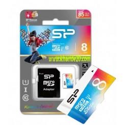 رم8گیگ کارتی سیلیکون پاور SP -85MB/S