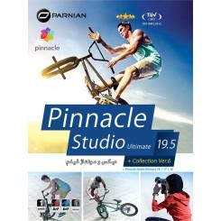 نرم افزار Pinnacle Studio Ultimate 19.5 + Collection (Ver.6) |قیمت پشت جلد12500