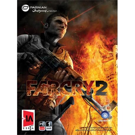 بازی کامپیوتر far cry 2 | قیمت پشت جلد 12500تومان