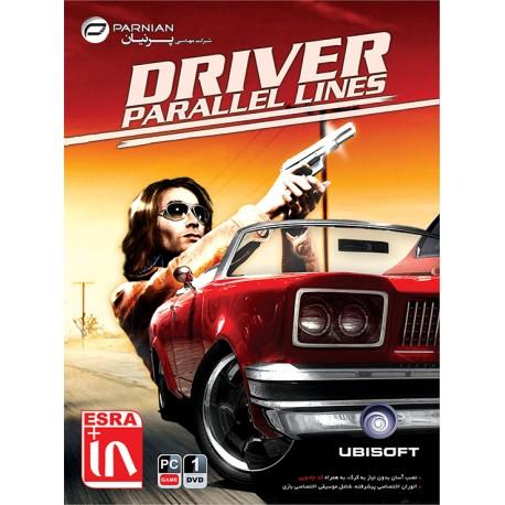 بازی کامپیوتری Driver Parallel Lines |قیمت پشت جلد 6500 تومان