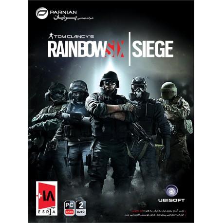 بازی کامپیوتر Tom Clancy's Rainbow Six Vegas  قیمت پشت جلد 12500 تومان