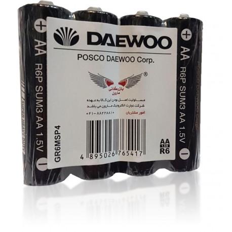 باتری قلمی شیرینگ 4 عددی DAEWOO