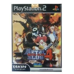 بازی PS2 Metal Slug 4