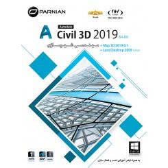 نرم افزار اتو کد AutoCAD Civil 3D & Map 3D 2019.0.1 (64-bit)