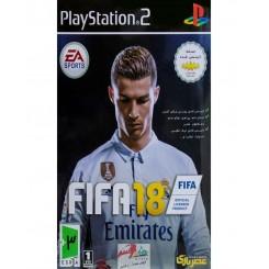 بازی فوتبال FIFA 18 برای PS2