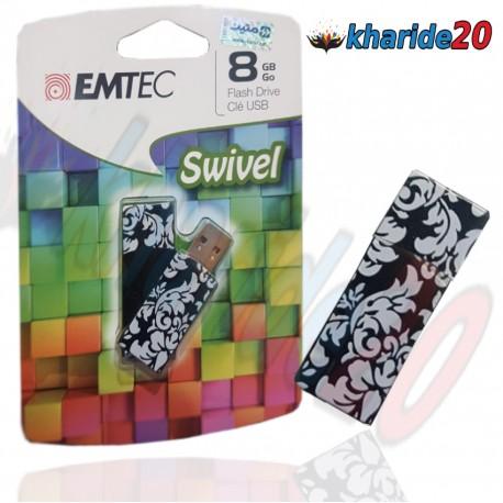 فلش مموری 8گيگ طرح اسلیمی EMTEC -SWIVEL