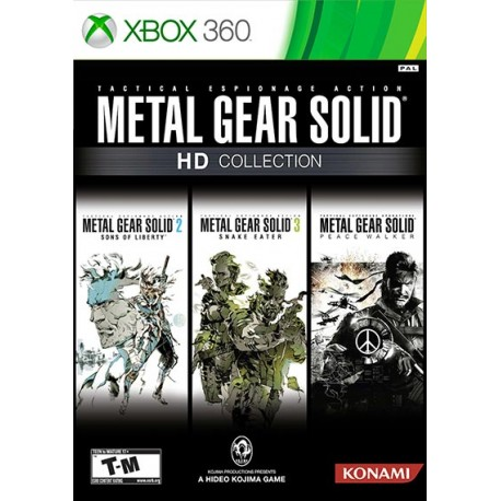 بازی METAL GEAR SOLID HD Collection| XBOX 360
