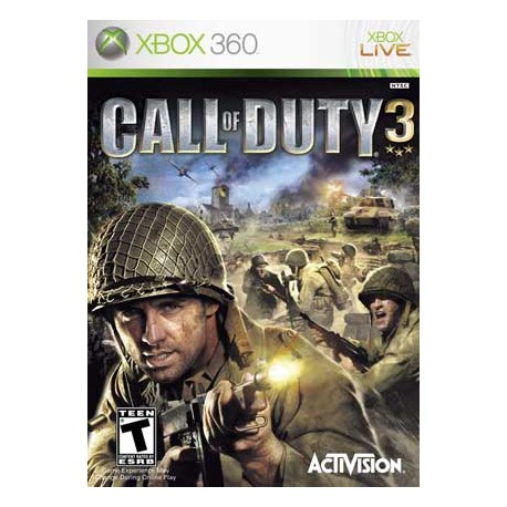 بازی Call Of Duty 3 | XBOX 360